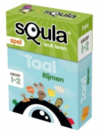 Squla kaartspel - Taal rijmen