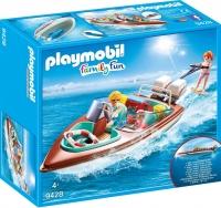 Playmobil 9428 motorboot met onderwatermotor