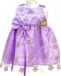 Mini Mommy feestjurk 33 37 cm paars