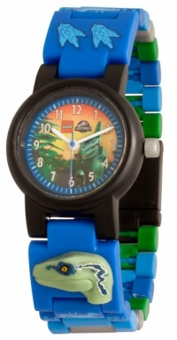 LEGO Jurassic World horloge: Blue