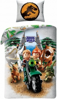 Character World dekbedovertrek Lego Jurassic World 140 x 200 cm
