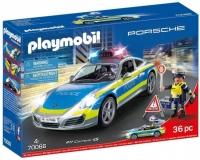 70066 Playmobil Porsche 911 Carrera 4S Politie Wit