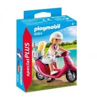 Playmobil Zomers Meisje Met Scooter