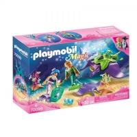 70099 Playmobil Parelvisser met Roggen