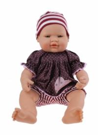 Falca Babypop 40 cm meisje paars